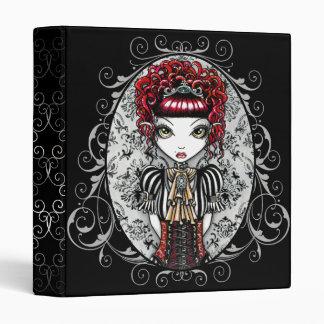 """""""Annie"""" Gothic Victorian Couture Fairy Binder"""