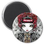 Annie Gothic Victorian Fae Magnet