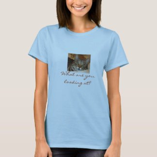 Annie in the Sink, What are you looking at? T-Shirt