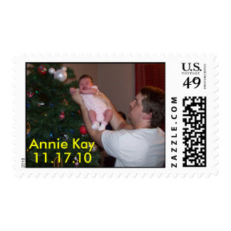 Annie Kay and Daddy Stamp