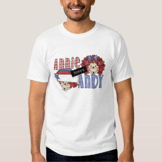 Annie Loves Andy Ragdoll T-shirt