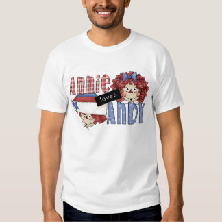 Annie Loves Andy Tshirts and Gifts