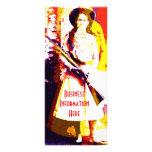 Annie Oakley 2012 Calendar Bookmark Rack Card