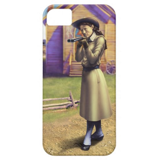 Annie Oakley iPhone 5/5S Covers