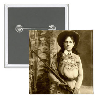 Annie Oakley Classic Pinback Buttons