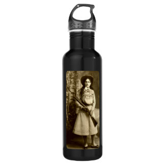 Annie Oakley Classic Stainless Steel Water Bottle