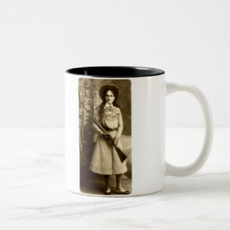 Annie Oakley Classic Two-Tone Coffee Mug
