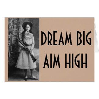 Annie Oakley Funny Cowgirl Cards