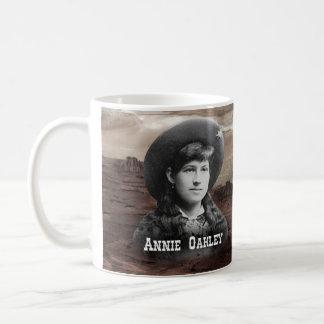Annie Oakley Historical Classic White Coffee Mug