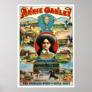 Annie Oakley - impresión Posters