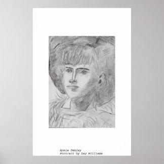 Annie Oakley Impresiones
