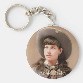 Annie Oakley Keychain