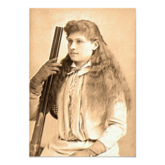 Annie Oakley Portrait Card