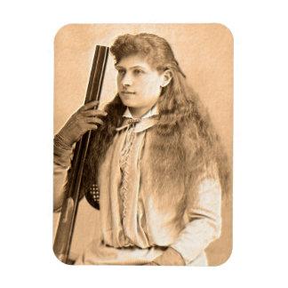 Annie Oakley Portrait Magnet