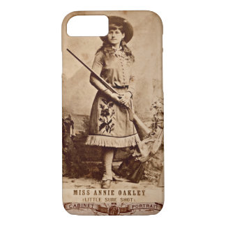 Annie Oakley Sepia iPhone 7 Case