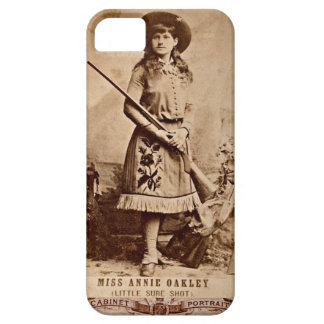 Annie Oakley Sepia iPhone SE/5/5s Case