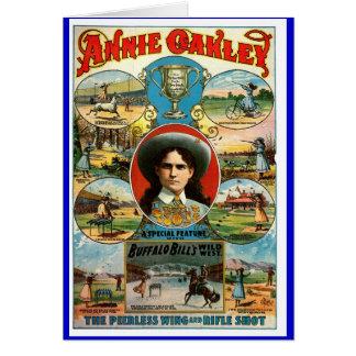 Annie Oakley - tarjeta