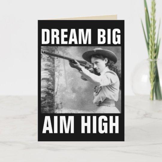 Annie Oakley With Gun Birthday Greeting Cards Zazzle