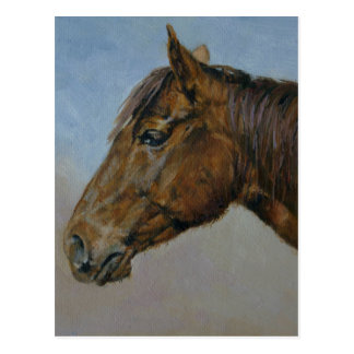 Annie Oil Figurative Painting Post Card