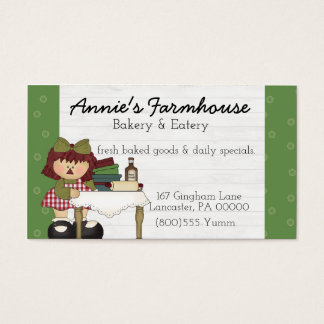 Annie Primitive Country Business Card