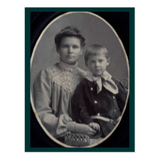Annie (Rupp) & Arthur Adair of Red Lion, York Co. Postcard