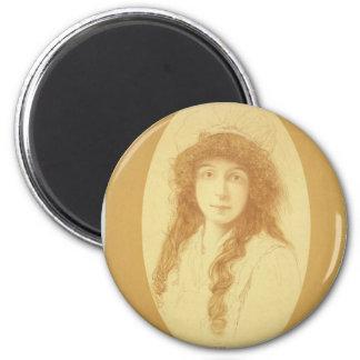 """Annie Russell, teatro retro de los """"ratones y de Imán Redondo 5 Cm"""