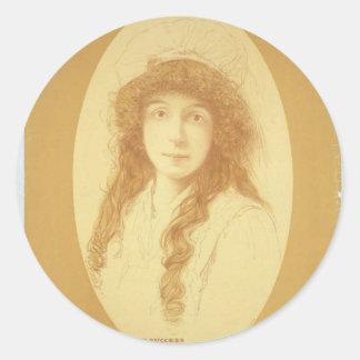 """Annie Russell, teatro retro de los """"ratones y de Pegatina Redonda"""