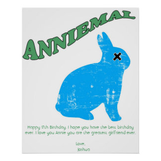 Anniemal Poster