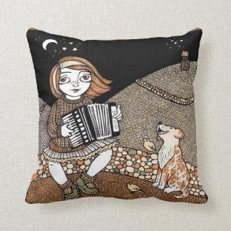 Annies Accordian Decoarative Throw Pillow