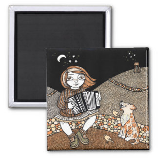 Annies Accordian Magnet