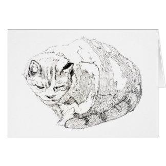 Annie's Cat Card