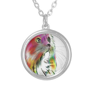 annies need silver plated necklace