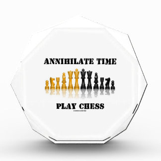 Annihilate Time Play Chess (Reflective Chess Set) Award