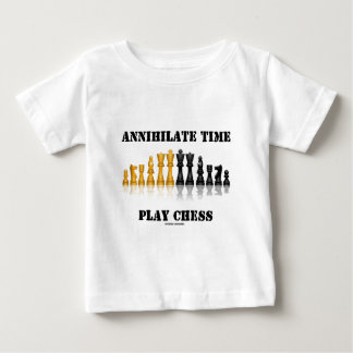 Annihilate Time Play Chess (Reflective Chess Set) Baby T-Shirt