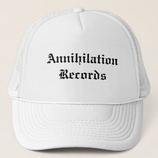 Annihilation Records Trucker Hat