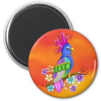 Annika Tropical Bird Magnet