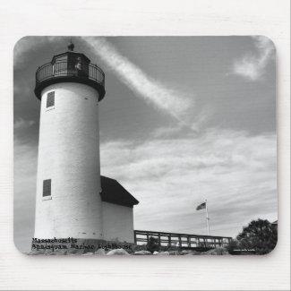 Annisquam Harbor Lighthouse - Mousepad mousepad