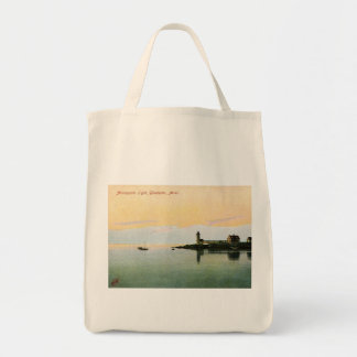 Annisquam Lighthouse, Gloucester, MA Vintage Tote Bag