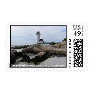 Annisquam Lighthouse Stamp