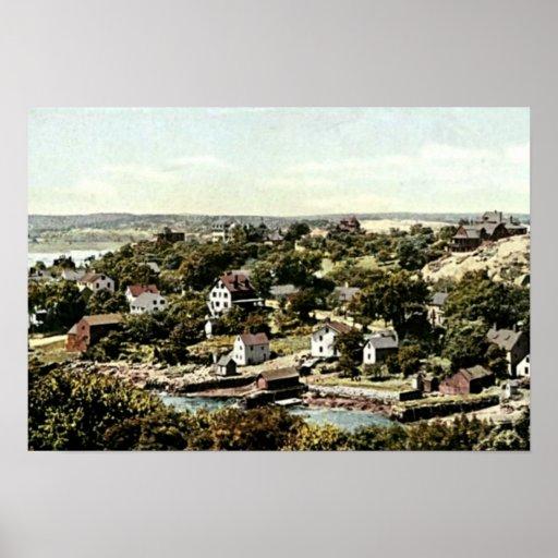 Annisquam Village, Gloucester, Massachusetts Posters