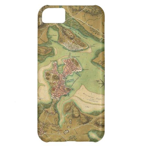 Anniv of Paul Revere's Ride. Boston in 1776 iPhone 5C Case