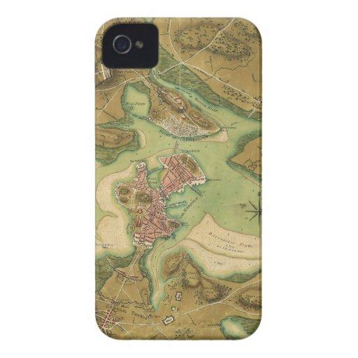 Anniv of Paul Revere's Ride. Boston in 1776 iPhone 4 Case