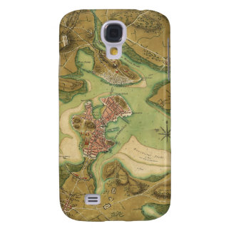 Anniv of Paul Revere's Ride. Boston in 1776 Samsung Galaxy S4 Cover