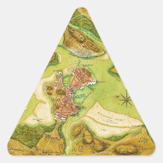 Anniv of Paul Revere's Ride.jpg Triangle Sticker