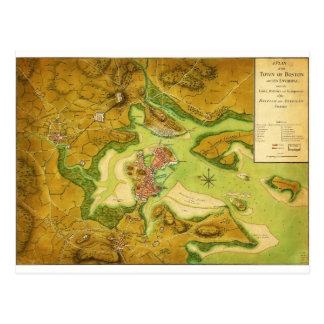 Anniv of Paul Revere's Ride Postcard