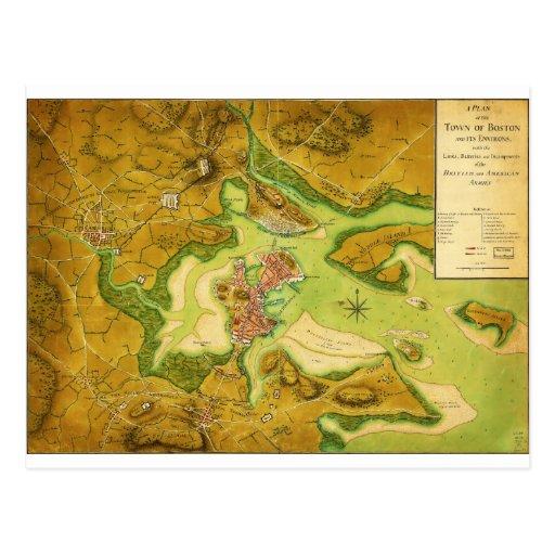 Anniv of Paul Revere's Ride Postcards