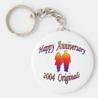 Anniversary 2004 Couple Keychain