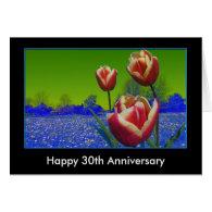 Anniversary, birthday, tulips,add text card