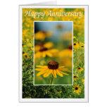 Anniversary - Black-Eyed Susans Greeting Card