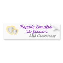 Anniversary Bumper Sticker... - Customized Bumper Sticker